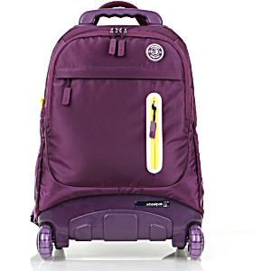 Школьный рюкзак на колесах – ранец Wheelpak Base Violet – арт. WLP2174 (для 3-5 класса, 21 литр)