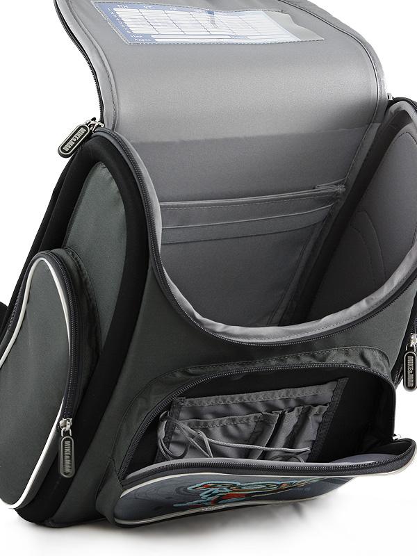 Школьный рюкзак раскладной Mike&Mar Майк Мар Акула 5040-ММ-16, - фото 3