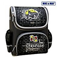 Школьный рюкзак раскладной Mike&Mar Майк Мар Стратегия черный 1441-ММ-122